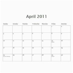 18 Mo Calender By Jan Cockreham   Wall Calendar 11  X 8 5  (18 Months)   X4i8nw6r7xlx   Www Artscow Com Apr 2011
