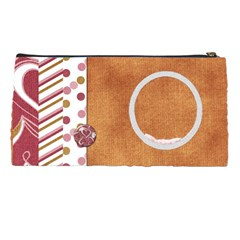Pencil Case I Heart Christmas By Lisa Minor   Pencil Case   N78k85f8c77w   Www Artscow Com Back