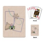 Playing Card Blustery Day 1002 - Playing Cards Single Design