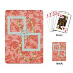 Playing Cards Spring Blossom - Playing Cards Single Design