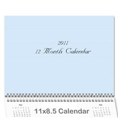 2011 12 Month Calendar By Lisa   Wall Calendar 11  X 8 5  (12 Months)   Bir99kb1yp3x   Www Artscow Com Cover