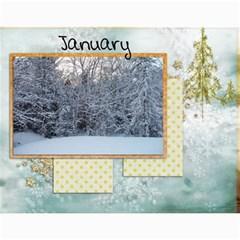 2011 12 Month Calendar By Lisa   Wall Calendar 11  X 8 5  (12 Months)   Bir99kb1yp3x   Www Artscow Com Month