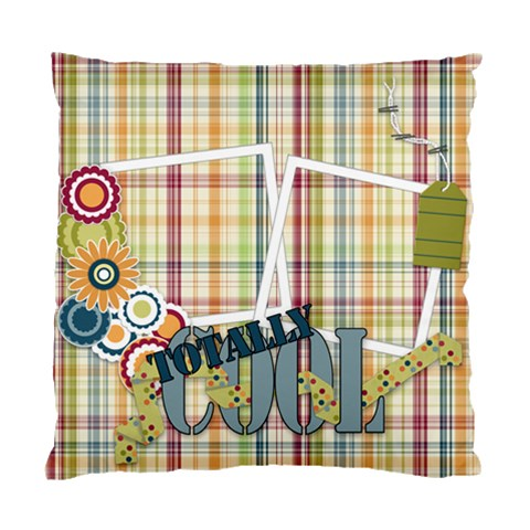 Pillow Totally Cool By Lisa Minor   Standard Cushion Case (one Side)   By2b1f4x821j   Www Artscow Com Front