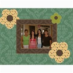 Moms Calandar By Dina Knowles   Wall Calendar 11  X 8 5  (12 Months)   Spejr5x3vkhc   Www Artscow Com Month