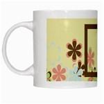 Mug-Spring Blossoms 1001 - White Mug