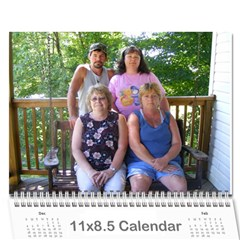 Family Calendar By Jeri   Wall Calendar 11  X 8 5  (12 Months)   1kgaspjyur7f   Www Artscow Com Cover