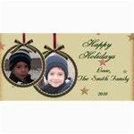 Christmas Card - 4  x 8  Photo Cards