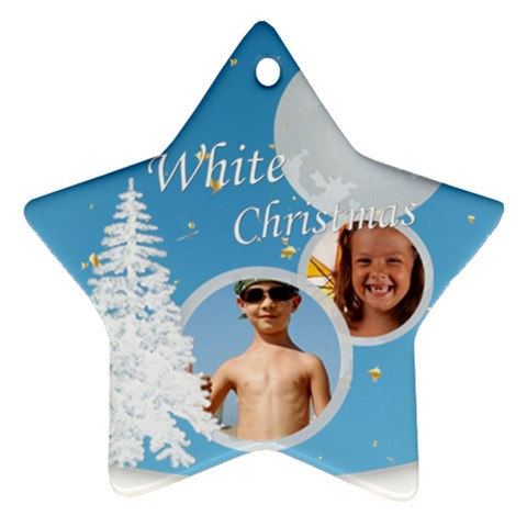 Xmas By Joely   Ornament (star)   8t0jnsu3so7l   Www Artscow Com Front