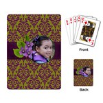Playing Cards- Lavander Love - Playing Cards Single Design