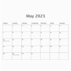 Calendar  Lavander Love By Jennyl   Wall Calendar 11  X 8 5  (12 Months)   Lf1832mq4b53   Www Artscow Com May 2017