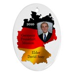 Elder David Seay Germany ornament 2010 - Ornament (Oval)