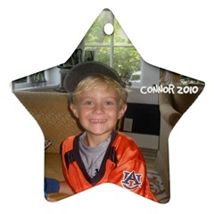 Connor Ornament By Cindy Blair Speigle   Star Ornament (two Sides)   Kg0t0y9sho6k   Www Artscow Com Front