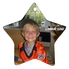 Connor Ornament By Cindy Blair Speigle   Star Ornament (two Sides)   Kg0t0y9sho6k   Www Artscow Com Back