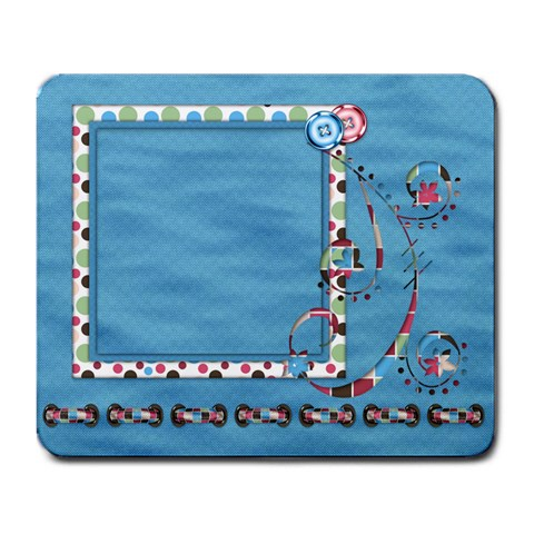 Mouse Pad Bloop Bleep 1001 By Lisa Minor   Large Mousepad   19wia35rmmbi   Www Artscow Com Front