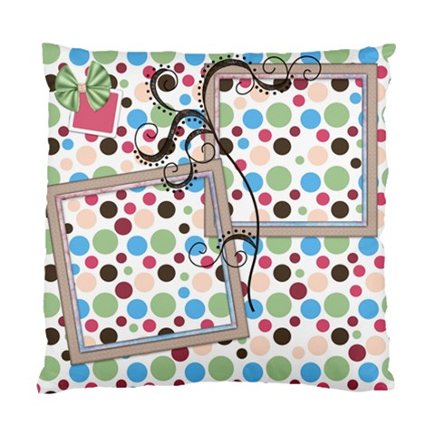 Pillow Bloop Bleep 1002 By Lisa Minor   Standard Cushion Case (one Side)   Fkis0t0fheac   Www Artscow Com Front