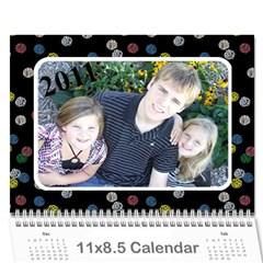 Caledar By Tracy Ford   Wall Calendar 11  X 8 5  (12 Months)   0xg7lvbkfg7s   Www Artscow Com Cover