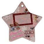 Angels Baby s 1st Christmas 2010 ornament 38 - Ornament (Star)