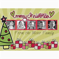 Present Card By Martha Meier   5  X 7  Photo Cards   Owjd2u7wzqte   Www Artscow Com 7 x5 Photo Card - 1