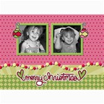 Ornament Christmas card - 5  x 7  Photo Cards