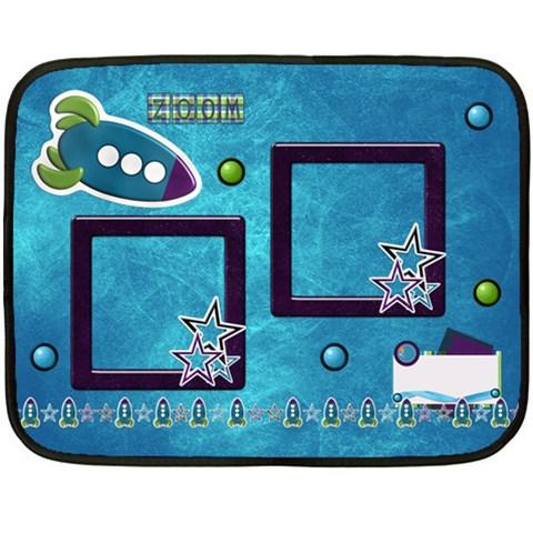 Blanket A Space Story By Lisa Minor   Fleece Blanket (mini)   Uqtgwbrmct8q   Www Artscow Com 35 x27 Blanket