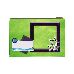 Cosmetic Bag A Space Story 1003 By Lisa Minor   Cosmetic Bag (large)   96k8rdqnseoq   Www Artscow Com Back