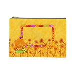 Cosmetic Bag-Miss Ladybugs Garden 1004 - Cosmetic Bag (Large)