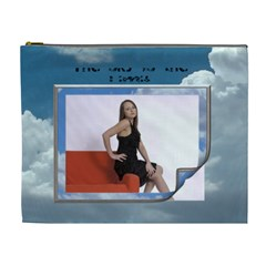 The Sky Is The Limit Xl Cosmetic Bag By Lil    Cosmetic Bag (xl)   Ag3890au09ke   Www Artscow Com Front