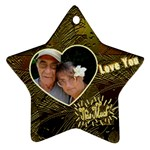 Love You This Much G0LD - Ornament (Star)
