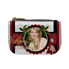 Xmas By Joely   Mini Coin Purse   J88wm3e4jppr   Www Artscow Com Front