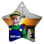 Davis ornament - Star Ornament (Two Sides)