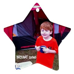 Bryant Ornament By Cindy Blair Speigle   Star Ornament (two Sides)   Hgdla887tgji   Www Artscow Com Back
