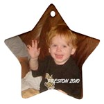 Preston ornament - Star Ornament (Two Sides)