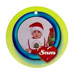 Sam heart - Ornament - Ornament (Round)