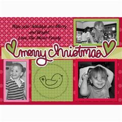 Collage Card By Martha Meier   5  X 7  Photo Cards   Nqm2x0ou2ryx   Www Artscow Com 7 x5 Photo Card - 10
