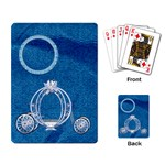 Playing Cards-Ella in Blue 1001 - Playing Cards Single Design