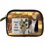 Enjoy the Little Things Camera Case - Digital Camera Leather Case