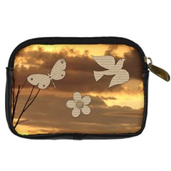 Enjoy The Little Things Camera Case By Lil    Digital Camera Leather Case   E0hk813nmnei   Www Artscow Com Back