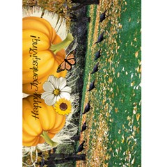 Happy Thanksgiving! 5x7 Card By Wendi Giles   Greeting Card 5  X 7    16e3l8fknhfv   Www Artscow Com Front Cover