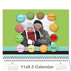 Kalendar 2011 By Vladislav Petrov   Wall Calendar 11  X 8 5  (12 Months)   Awnvcrmig3y9   Www Artscow Com Cover