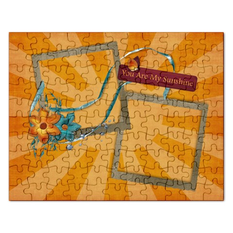 You Are My Sunshine Puzzle By Mikki   Jigsaw Puzzle (rectangular)   7e8m1n9kv58p   Www Artscow Com Front