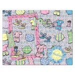 Slumber Party/Friends Puzzle - Jigsaw Puzzle (Rectangular)