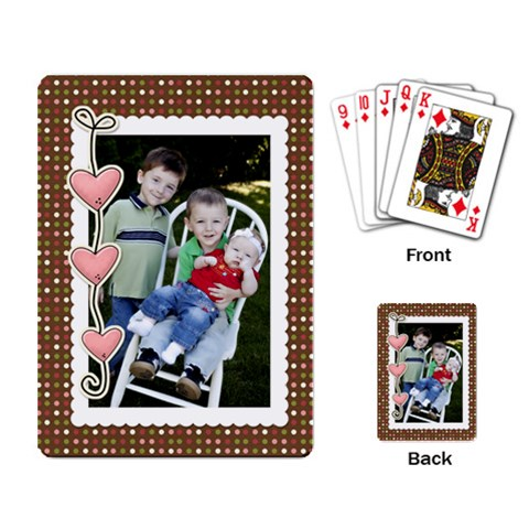 Dadsplayingcards By Tracy Clair   Playing Cards Single Design   Yrn7y9eltacm   Www Artscow Com Back