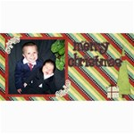 Joy christmas cards - 4  x 8  Photo Cards