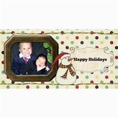 Joy Christmas Cards By Sheena   4  X 8  Photo Cards   Rhhem0luf18x   Www Artscow Com 8 x4 Photo Card - 6
