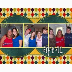 Bal By Kathy Johnson   Wall Calendar 11  X 8 5  (12 Months)   Z3bqc4zovak7   Www Artscow Com Month