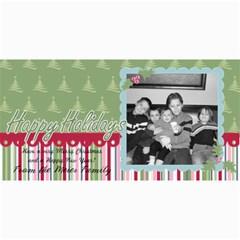 Happy Holiday Card 2 By Martha Meier   4  X 8  Photo Cards   23qij36abxk2   Www Artscow Com 8 x4 Photo Card - 6