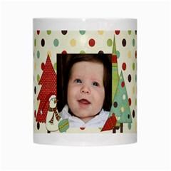 Christmas Mug By Sheena   White Mug   7j0xtjt97nvr   Www Artscow Com Center