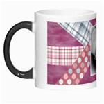 winter snowflake pink mug - Morph Mug