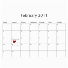 2011 Calendar By Tracy Clair   Wall Calendar 11  X 8 5  (12 Months)   Nixb3j8d3ovp   Www Artscow Com Feb 2011