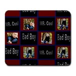 bad boy..mr.cool mouse pad - Large Mousepad